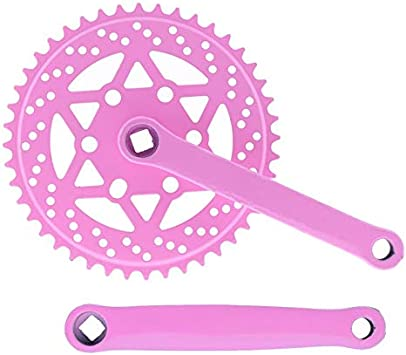 Riscko 007sml Juego De Bielas Bicicleta Personalizada Fixie Tallas S-m-l-l Urb Rosa: Amazon.es: Deportes y aire libre
