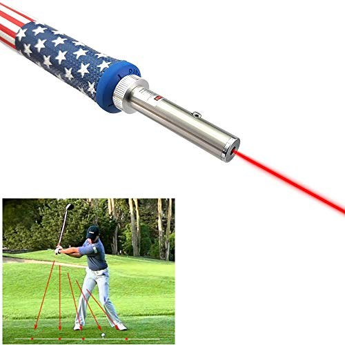 Jingwei Golf Swing Training Aid Laser Corrector Swing Posture Indicator (Swing Plane Training)