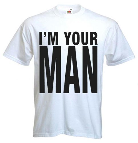 Wham! I'm Your Man 80s Lyric T-shirt, S to 3XL