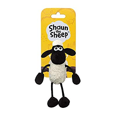 Shaun the Sheep Plush 61176 Backpack Clip, Black and White, Great Gift Idea: Toys & Games