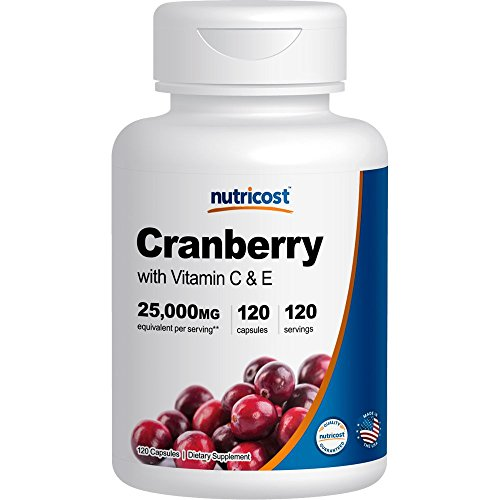 Nutricost Cranberry Extract Capsules Vitamin