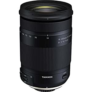 Tamron AFB028C700 18-400mm F/3.5-22 All-in-One-Zoom Fixed F/3.5-6.3 Di-Ii VC Hld Camera Lens, Black