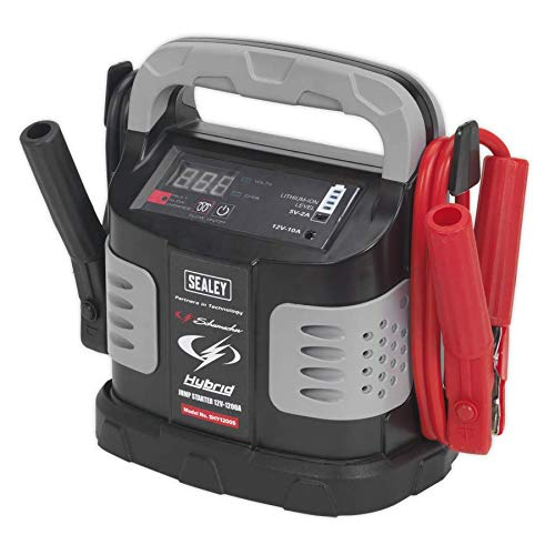 Sealey SHY1200S 1200A 12V Hybrid Ultra Capacitor Jump Starter
