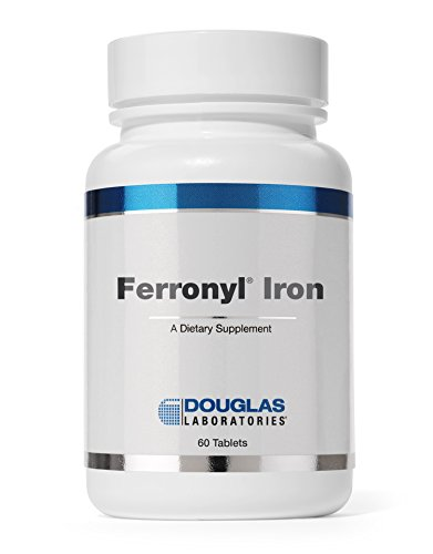 Douglas Laboratories - Ferronyl (with Vitamin C) - Iron Carbonyl with Combination of Vitamins for Optimal Health* - 60 Tablets