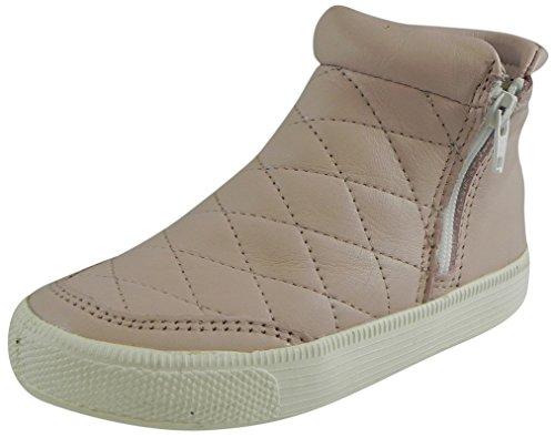 Powder Pink Kids Shoes (Old Soles Girls Zip Daley High Top (Toddler/Little Kid/Big Kid), Powder Pink, 24 EU(8 M US Big)