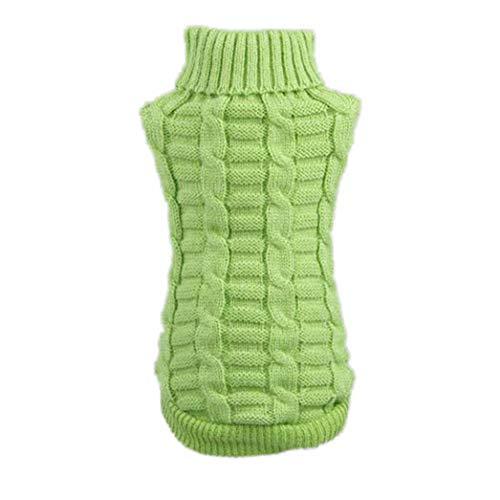 (SENERY Winter Pet Dog Clothing,Puppy Coat Pet Woolen Sweater Knitwear Clothing Dog)