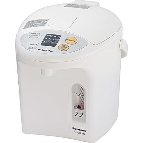 Panasonic NC EG2200 Electric Thermo Pot 2 3 Quart White