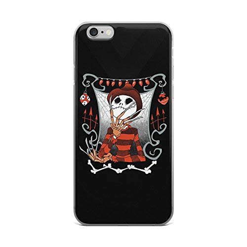 iPhone 6 Plus/6s Plus Pure Clear Case Cases Cover The Nightmare King Funny Skellington Halloween Fan Art