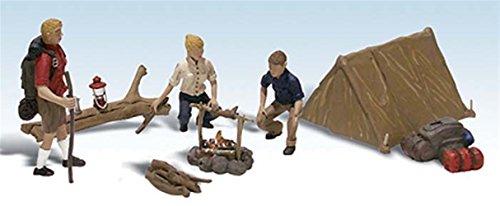 Ho Woodland Scenics Figures - 2