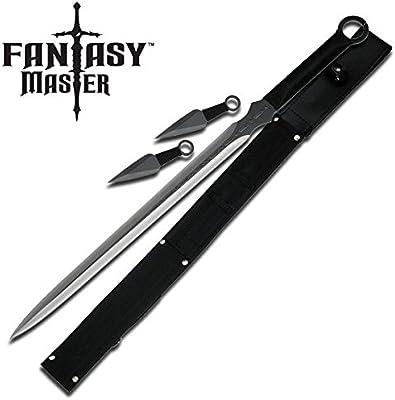 Amazon.com: Fantasy MASTER espada Samurai Ninja W/juego de ...