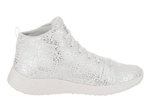 Skechers Burst Seeing Stars High Top Mujer US 7.5 Blanco Zapatillas