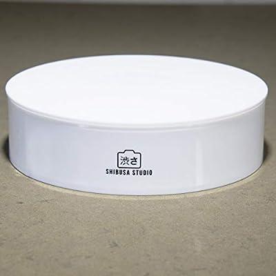 Shibusa Home Photo Studio caja de luz con tocadiscos de 360 ...