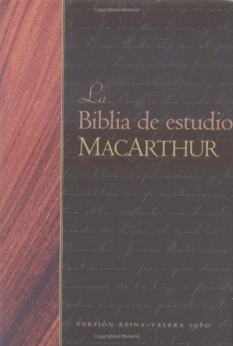 La Biblia de estudio MacArthur (Spanish Edition) pdf
