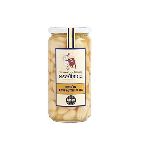 Brindisa Navarrico Large Butter Beans 660g