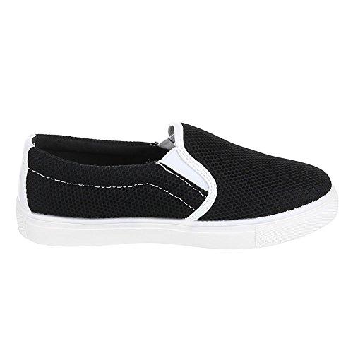 Ital-Design - Zapatillas de casa Mujer Negro - negro