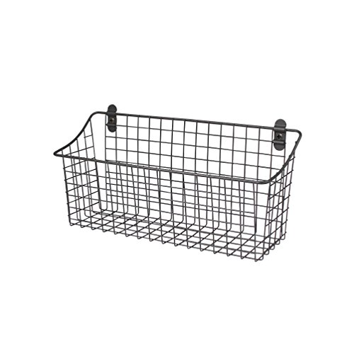 Spectrum Diversified Vintage Wall Mount Storage Basket, 15