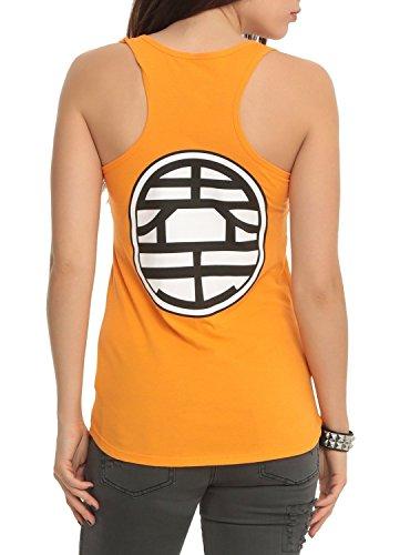 Dragon Ball Z Kame Symbol Girls Tank Top Small