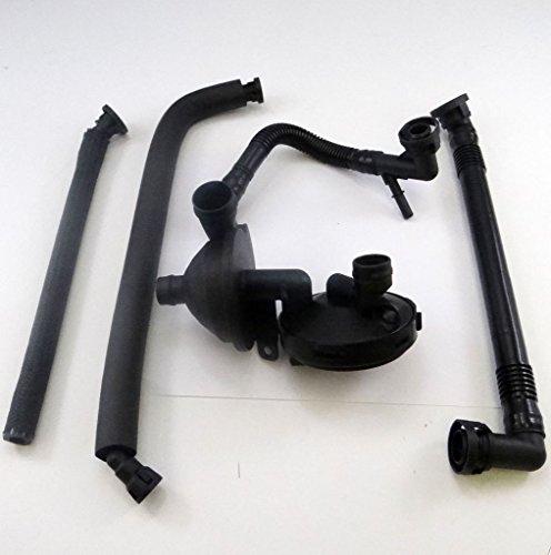 PCV Crankcase Vent Valve Breather Hose Kit BMW E46 325i 330i 325Xi 330Xi