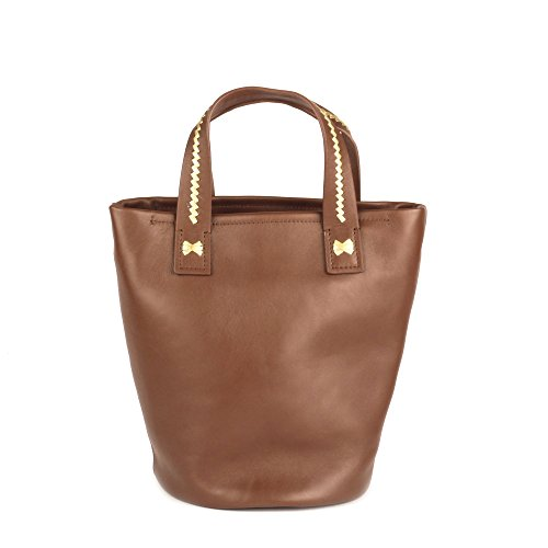 Cacao Cacao Ash Stinger Bucket Gold Bag Small Leather x6THq
