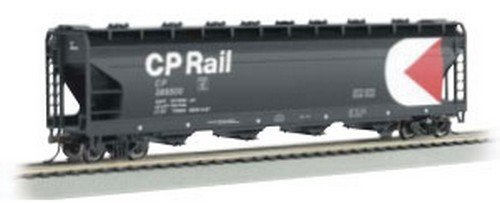 BAC17555 17555 ACF 56' 4-Bay Center-Flow Hopper CP Rail N by Bachmann ()