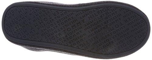 Tommy Hilfiger Cornwall Th 1d2 Pantofole Da Uomo, Marl Grigio Grigio Marl