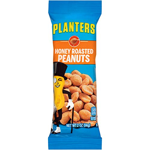 Planters Honey Roasted Peanuts (2 oz Bags, Pack of 144)