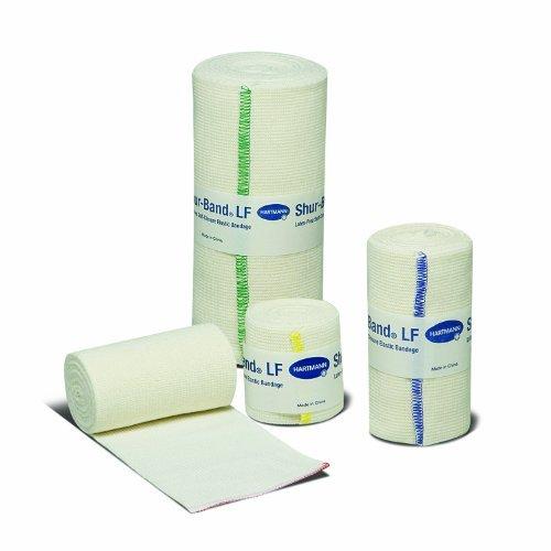 [Complete Range of Hartmann USA Products (4 x 10 yds - 6 Bandages, Shur-Band® LF)] (Band Self Closure Elastic Bandage)