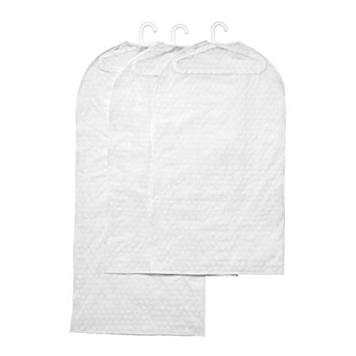 Ikea Clothes Cover, Set of 3, Transparent White