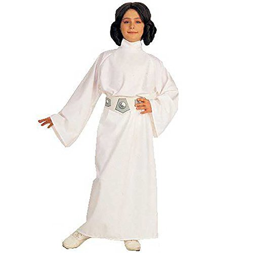 Deluxe Princess Leia Costume - Large (Deluxe Child Princess Leia Costume)