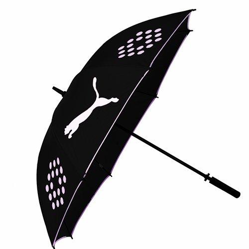 Puma Perform Single Canopy Umbrella, One Size, Black