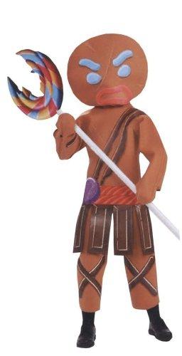 Halloween FX Shrek Gingerbread Warrior Man Unisex Costume -