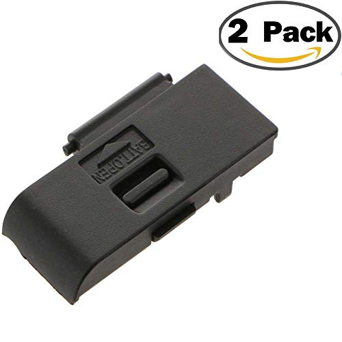 - 2Pack Battery Door Cover Replacement Repair Lid Cap Part for Canon Camera EOS 600D EOS Rebel T3i DSLR Digital