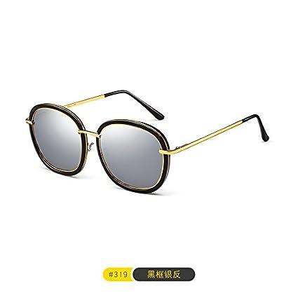 Komny Net gafas rojas marea hembra carácter coreano gafas de sol polarizadas gafas contra la luz
