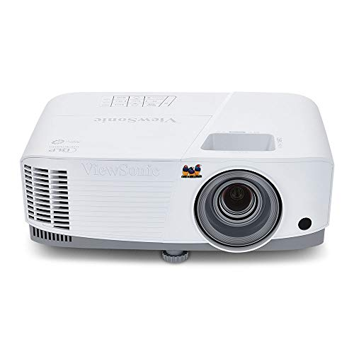 ViewSonic 3600 Lumens SVGA High Brightness Projector for Home and Office with HDMI Vertical Keystone and 1080p Support (PA503S) (Best Home Projector Under 200)
