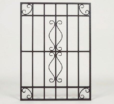 LLS ロートアルミ 装飾面格子 RAM01‐0609 650*H900 ブラック B072L132XN 22820  ブラック