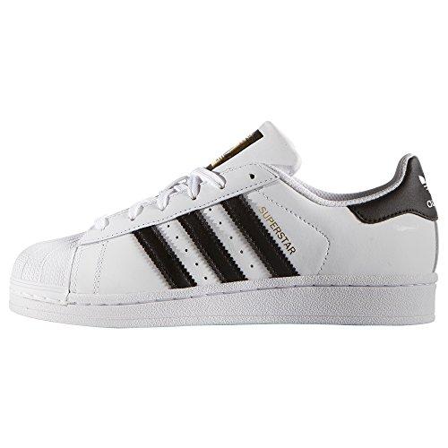 Et Superstar Femmes Rose sneakers White black Authentiques Blanc Basses Adidas Mode Les Pour De Baskets 0a0Zwd