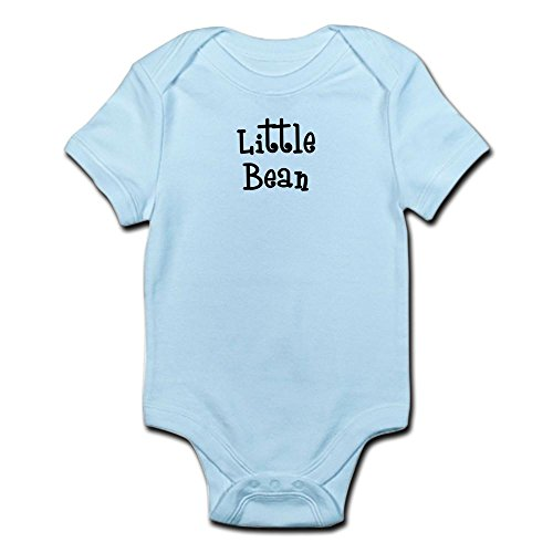 CafePress - Little Bean-black Infant Bodysuit - Cute Infant Bodysuit Baby (Little Bean)