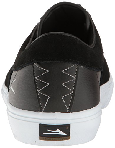 Shoe Lakai Suede Black Skateboarding Men's Rileyhawk qrfTrt