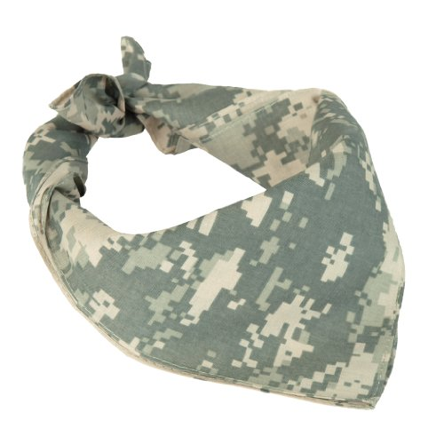 Miltec 100% Cotton ACU Digital Camouflage Bandana (Bandana Digital Desert)