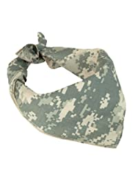100% Cotton ACU Digital Camouflage Bandana