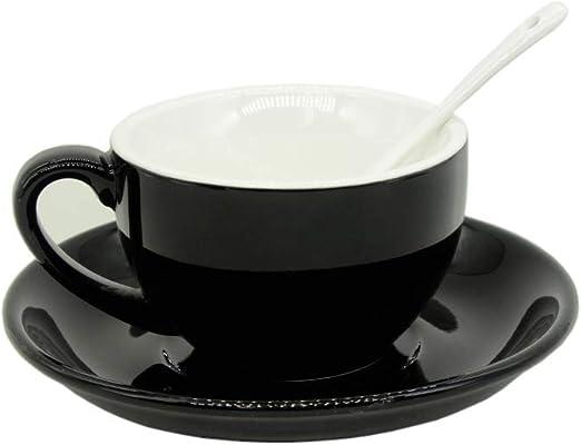Fiftyeight TV tazas 4 taza de café taza de café posavasos de porcelana 200ml