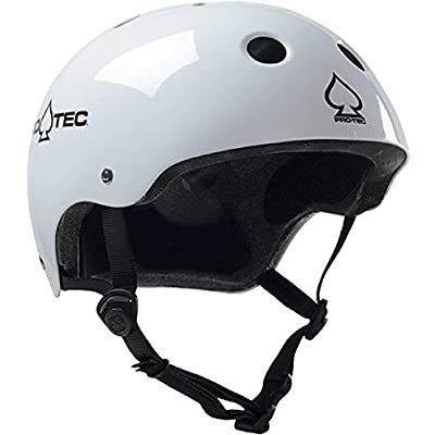 Protec (Cpsc) Classic Gloss White-XXL Helmet : Sports & Outdoors