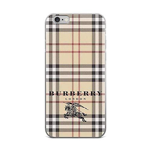 iPhone 6 Plus/6s Plus Pure Clear Case Cases Cover Big buberry (6 Plus Burberry)