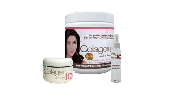 Amazon.com: Colageina 10 Set Completo Original - Nueva Presentación con Victoria Ruffo: Health & Personal Care