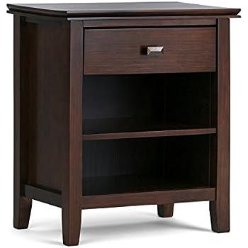 Amazon Com Simpli Home 3axcart 02 Artisan Solid Wood 24