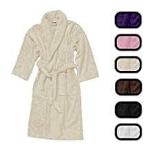 Genuine Turkish Cotton Unisex Bath Robe Terry Shawl Eco-friendly - CLOSEOUT SAVINGS