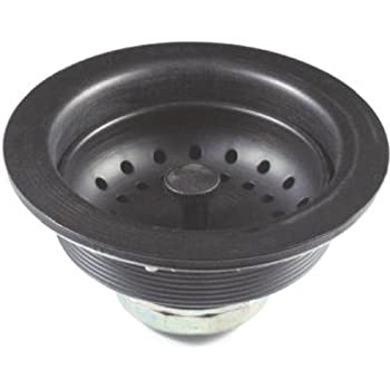 Danco 89304 3 1/2 Inch Kitchen Sink Metal Basket Strainer Assembly,
