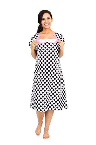 Hospital Patient Gown, Designer Gownies (XXL Size 16-22, Celine)