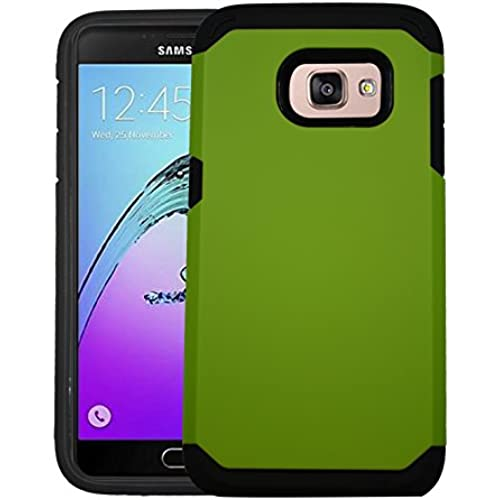 Samsung Galaxy S7 Edge Hard Shell [Perfect Fit] Impact Defender Armor Slim Case Cover - Green Sales