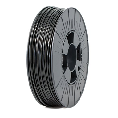 ICE FILAMENTS ICEFIL3ABS022 ABS Filament, 2.85 mm, 0.75 kg, Brave Black